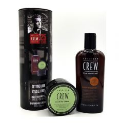 American Crew Csomag Hair & Body Daily Moisturizing Sampon 250ml + Styling Forming hajformázó krém 85g