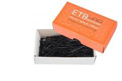 ETB Hair Fekete hajcsatt 5cm 200g