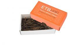 ETB Hair Barna hajcsatt 7cm 200g