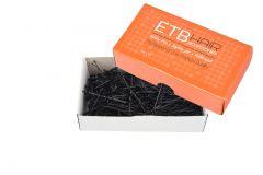 ETB Hair Fekete hajcsatt 7cm 200g