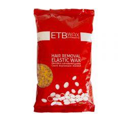 ETB Wax Elasztikus gyöngy gyanta 1kg Sárga