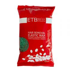 ETB Wax Elasztikus gyöngy gyanta 1kg Zöld