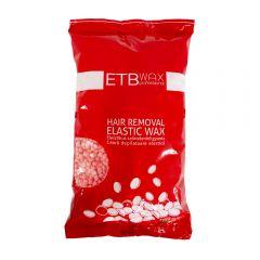 ETB Wax Elasztikus gyöngy gyanta 1kg Rózsaszin TIO2