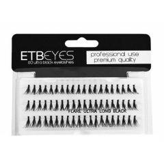 ETB Eyes Tincses műszempilla ultra fekete L 60db