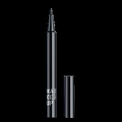 Make up Factory Full Control Liquid Eyeliner Black 01