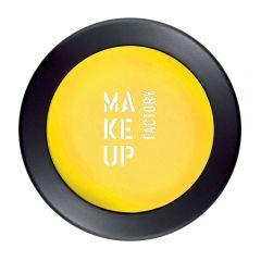 Make up Factory Mat Eye Shadow Mono Yellow Lemon 37