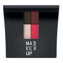 Make up Factory Mat Eye Colors Q Red Rebel 020