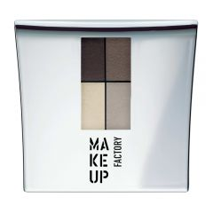 Make up Factory Quattro Eye Shadow Dim Greyge 04