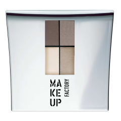 Make up Factory Quattro Eye Shadow Stoney Wood 07