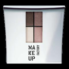 Make up Factory Quattro Eye Shadow Pearly Cinnamon 08