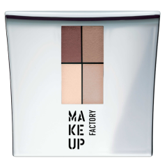 Make up Factory Quattro Eye Shadow Nude Meets Brown 11